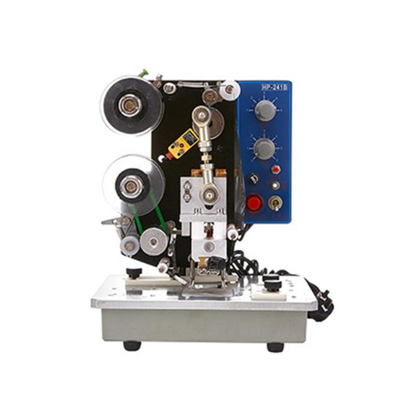 HP-241B Electric Ribbon Coding Machine Automatic Date Printing Machine Stamping Label Hot Coding Machine
