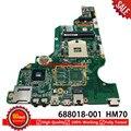 Для hp compaq CQ58 CQ58-2000 Материнская плата ноутбука HM70 DDR3 688018-501 688018-601 688018-001 материнская плата 100% тесты хорошее