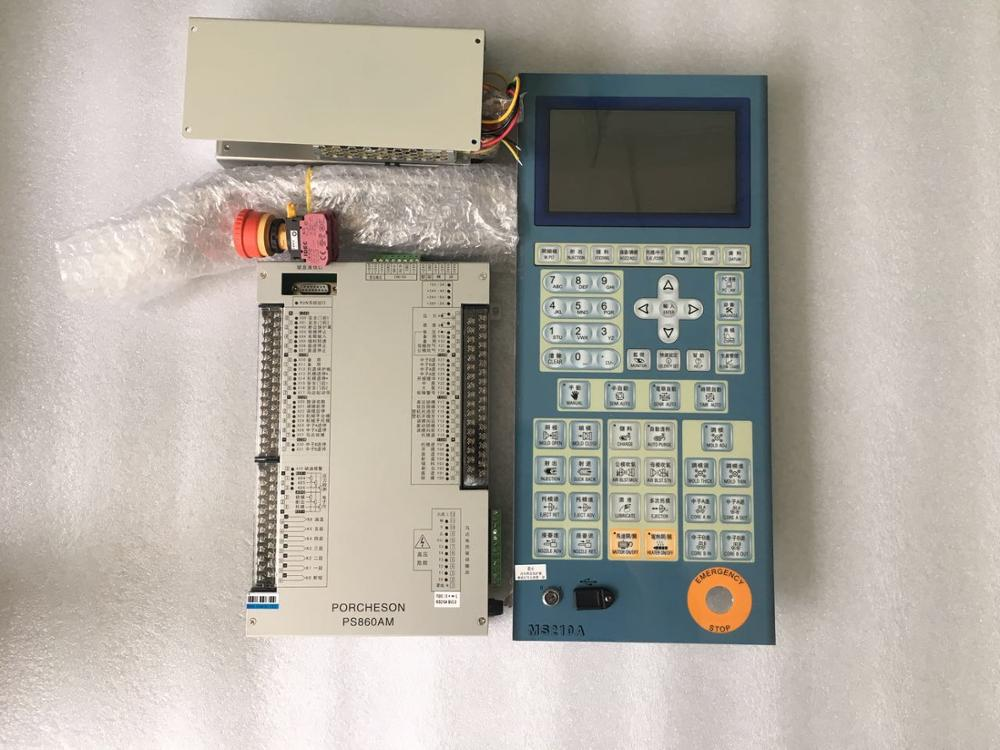 PORCHESON      New And Original PS860AM +MS210 Full Set For Injiection Modling Machine