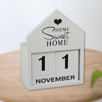 Adornos de exhibición de calendario para decoración de hogar, regalo, decoración para el hogar, decoración para el hogar