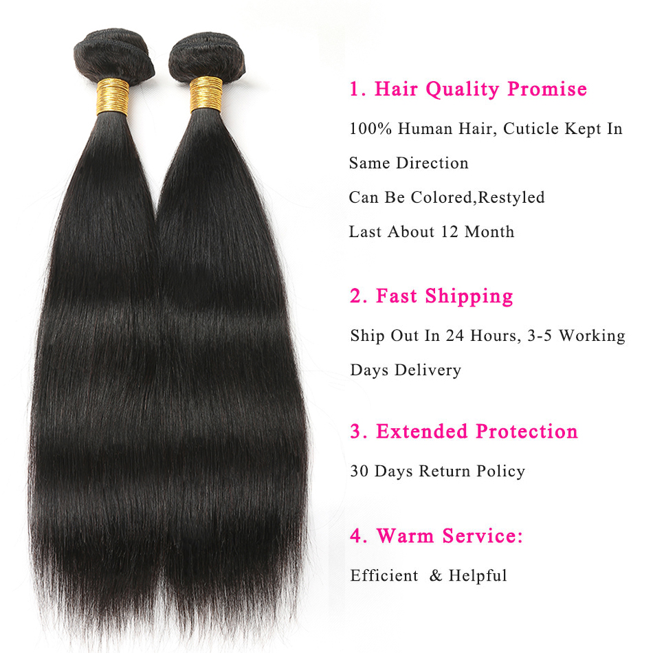 straight human hair bundles with lace closure brazilian hair lace closure with bundles 7