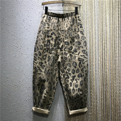 Fashion Leopard Jeans  2