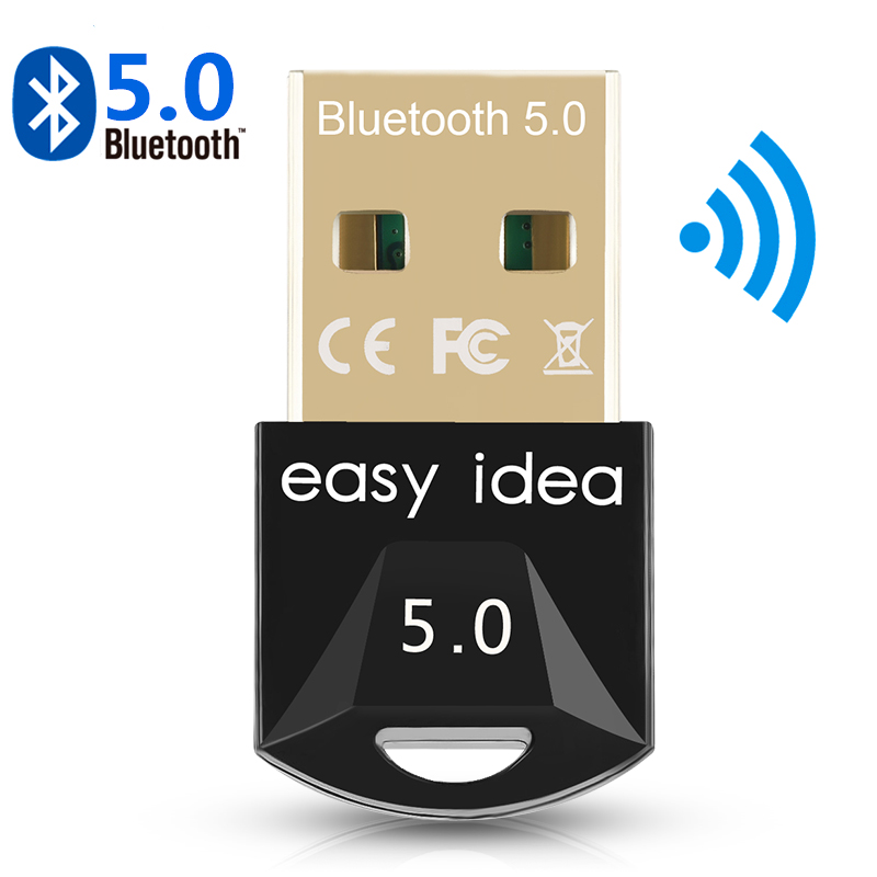 USB Bluetooth 5.0 Bluetooth 5.0 Adapter Receiver Wireless Bluethooth Dongle 4.0 Music Mini Bluthooth Transmitter For PC Computer