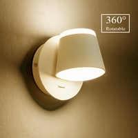 360 degrés réglable mur LED lampe chevet applique murale salon allée mur monté Luminaire moderne hôtel applique