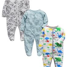 Baby one-piece pajamas newborn girls boys clothes infant sleeper 3 6 9 12 months cotton sleepwear