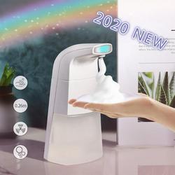 2020 Professionele Auto Schuimende Hand Zeepdispenser Geen Touch Handsfree Schuim Zeepdispenser Automatische Home Improvement Dispenser