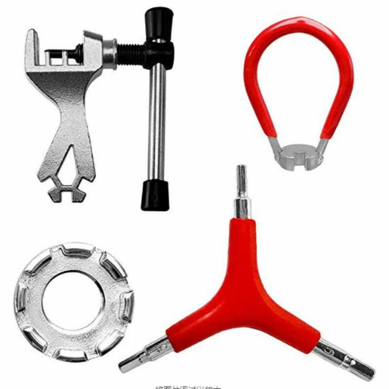 8Way Bike Bicycle Spoke Wrench Adjuster Nipple Key Wheel Rim Spanner Repair Tool