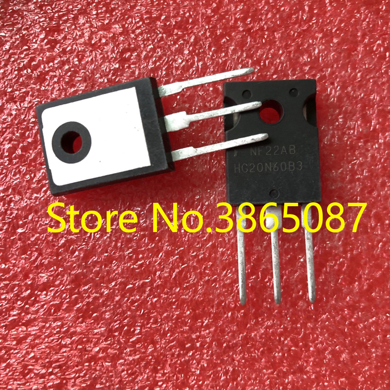 HG20N60B3 HGTG20N60B3 TO-247 силовая трубка IGBT транзистор 20 шт./лот оригинал новый