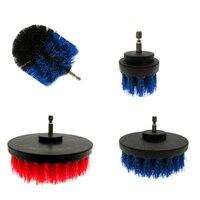 18 Pc/set Drill Brush Kit Power Scrubber Brush Scouring Scrub Pads For Bathroom