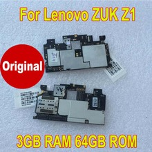 100% Original Tested Working Mainboard Motherboard For Lenovo ZUK Z1 Z1221 (3GB+64GB) Circuits Card Fee Flex Cable Phone parts