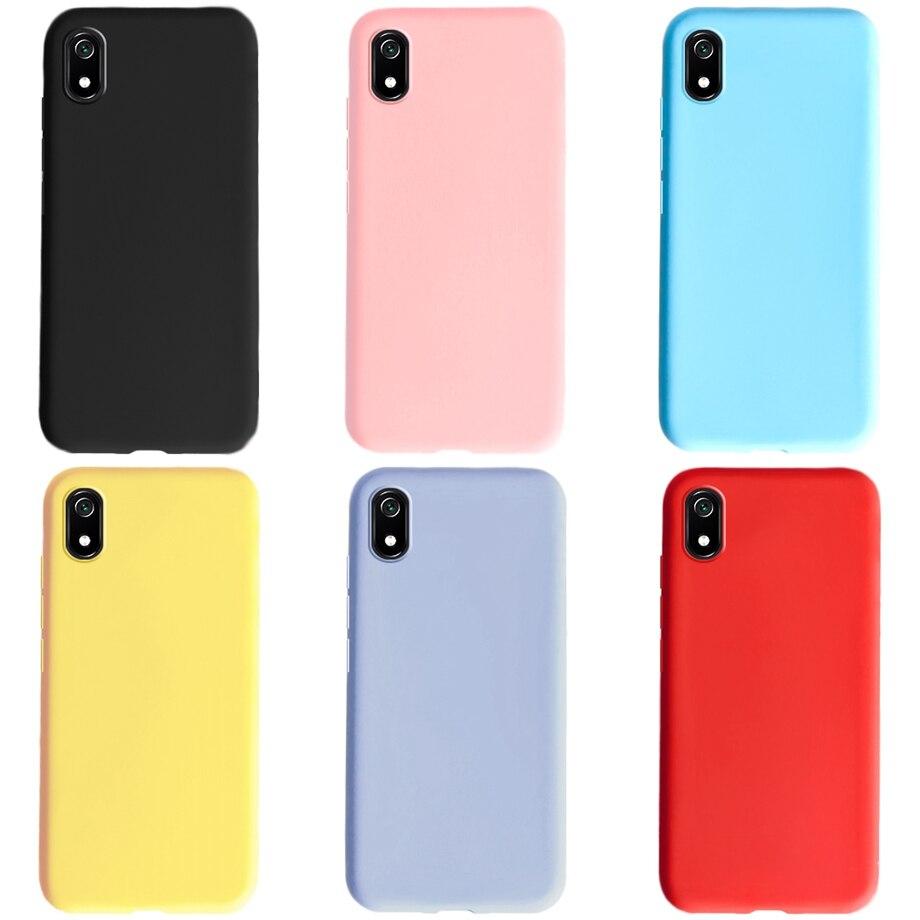Phone Case For Xiaomi Redmi 7A Matte Black Cover Silicon TPU Soft Cases Back Cover For Xiomi Xiaomi Redmi 7A 7 A A7 Redmi7A Case