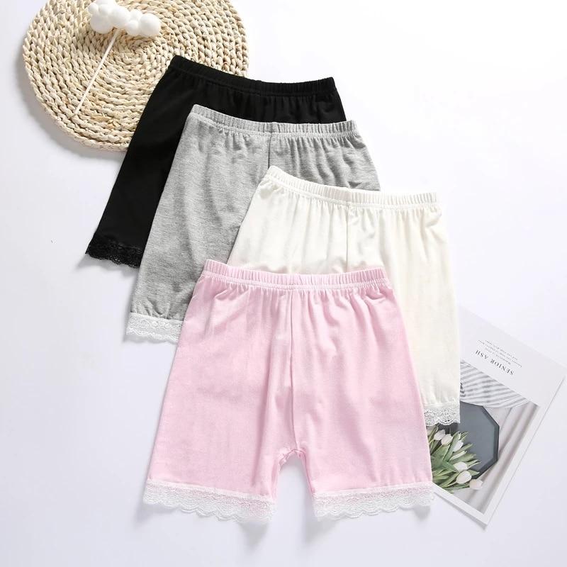 4 шт./лот летние шорты; Комплекты для девочек; Одежда для маленьких девочек шорты для младенцев для детей от 3 до 11Y детские брюки для девочек О...