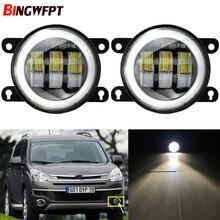 LED antibrouillard 4000LM 30W voiture antibrouillard blanc jaune 12V pour Citroen c crosser Jumpy Xsara Berlingo DS3 DS4 DS5 C1 C3 C4 C5 C6