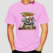 Maglietta Freddo O Collo top Smokey E Bandit Spedizione Gratuita Trans Am Retro anni '80 70 'movie Cotton Tee 6794X