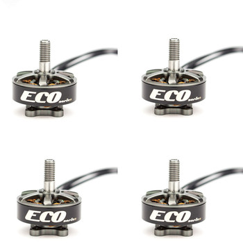 4PCS Emax ECO Brushless Motor Series 2306 6S 1700KV 4S 2400KV Brushless Motor For RC FPV Drone Spare Parts Accessories