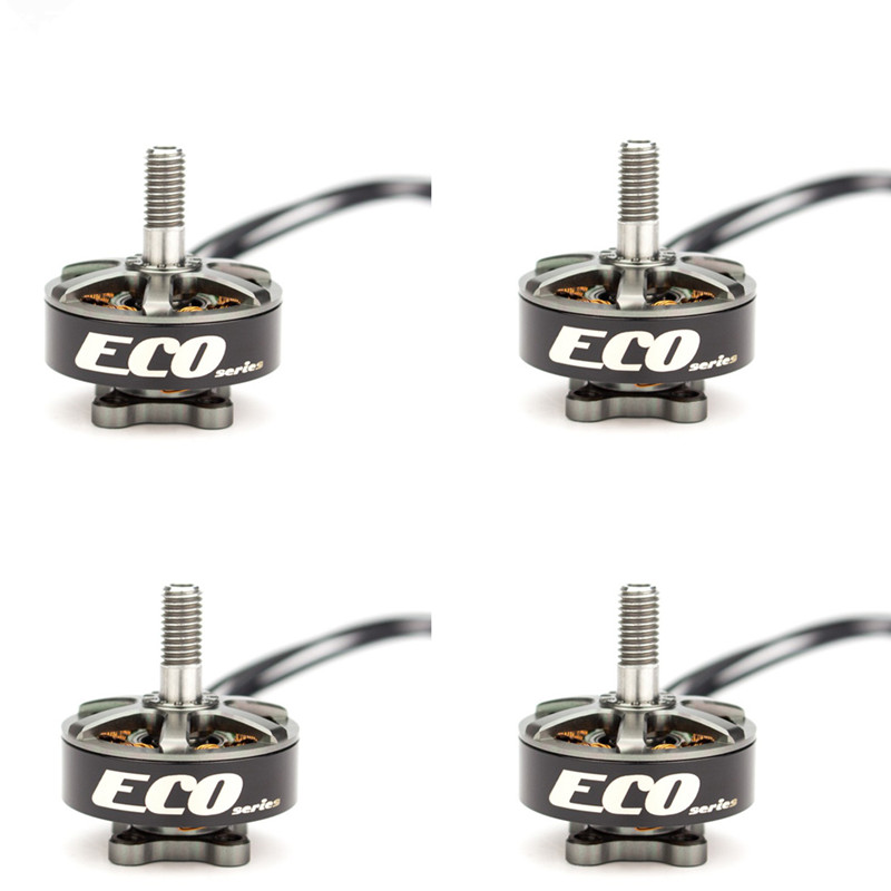 4PCS Emax ECO <font><b>Brushless</b></font> <font><b>Motor</b></font> Series 2306 6S <font><b>1700KV</b></font> 4S 2400KV <font><b>Brushless</b></font> <font><b>Motor</b></font> For RC FPV Drone Spare Parts Accessories image