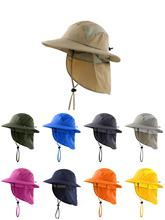Connectyle  UPF 50+ Boys Summer Sun Hat with Neck Flap Beach Kids Safari