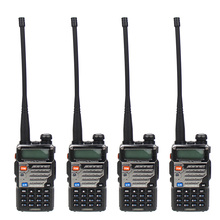 4 Pcs BAOFENG UV-5RE Dual Band  VHF UHF Amateur Handheld Two Way Radio FM Transceiver Ham walkie Talkie Portable Interphone baofeng uv 6 walkie talkie 8w long range two way radio vhf uhf dual band handheld radio transceiver interphone