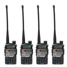 4 Pcs BAOFENG UV-5RE Dual Band VHF UHF Amateur Handheld Two Way Radio FM Transceiver Ham walkie Talkie Portable Interphone