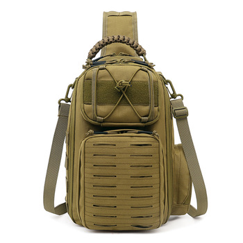 Tactical Chest Bag Military Army Laser Molle Sling Shoulder Backpack Men Outdoor Hunting Travel Camping Fishing Camo Bag 5