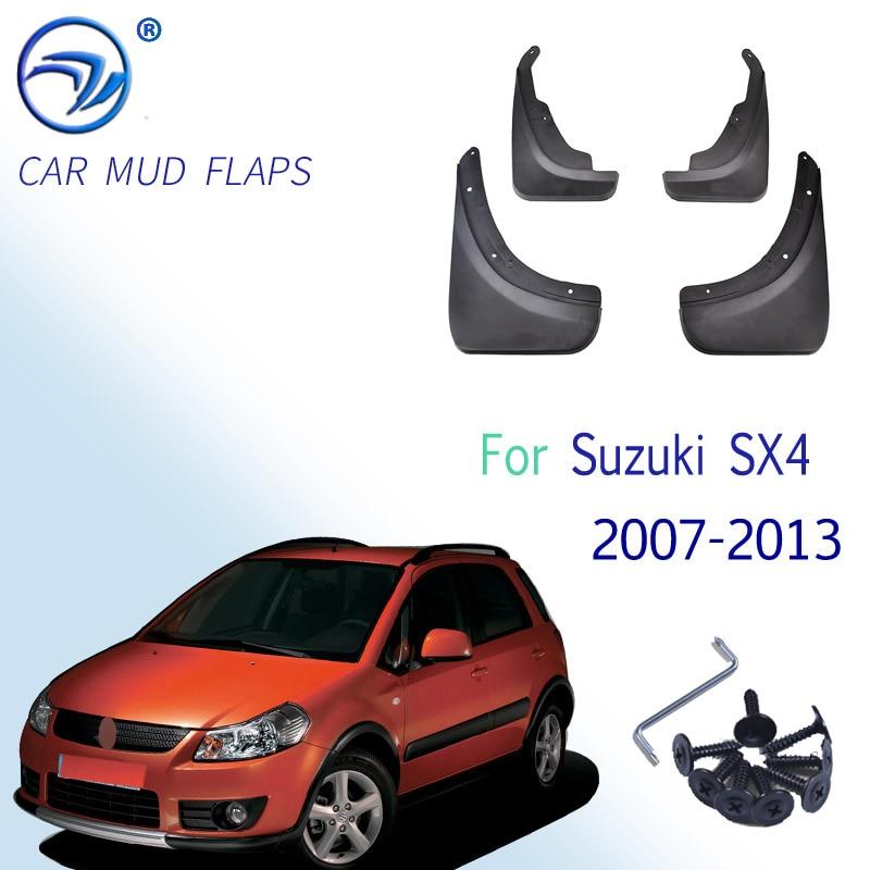 OE стильные Автомобильные Брызговики для Suzuki SX4 Хэтчбек кроссовер 2007 2008 2009 201 2011 2012 2013 Брызговики