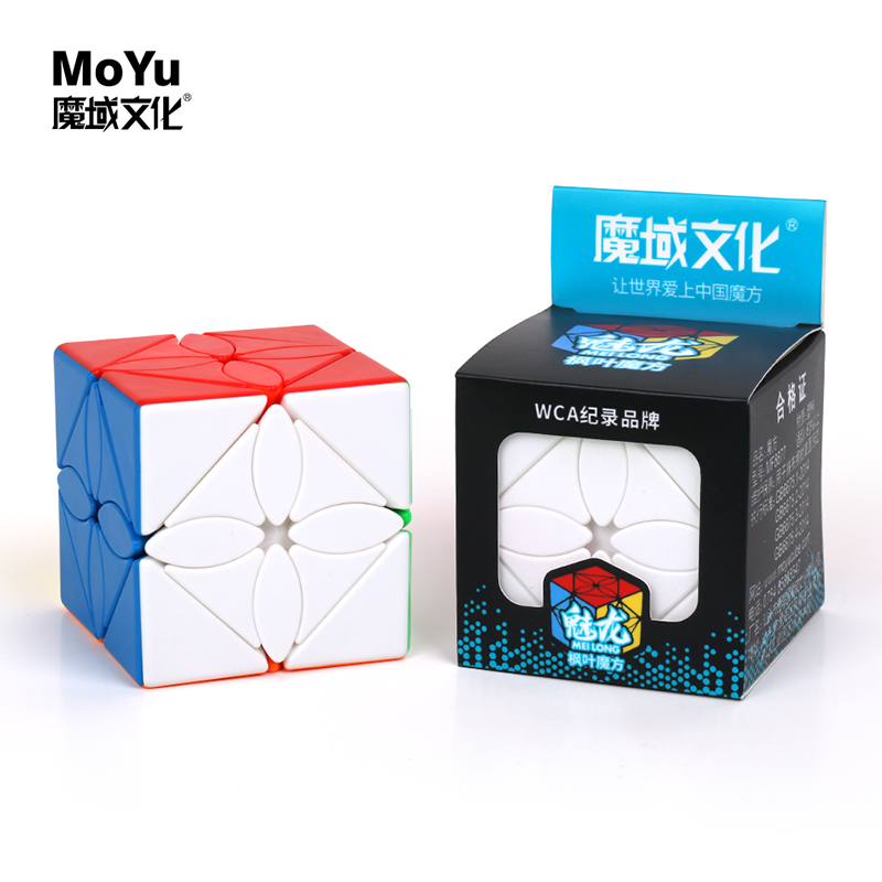 Moyu  MoYu MeiLong Ivy Cube Mofangjiaoshi Collection Maple Leaves Magic Cube Puzzle Cubing Classroom Educational Toys