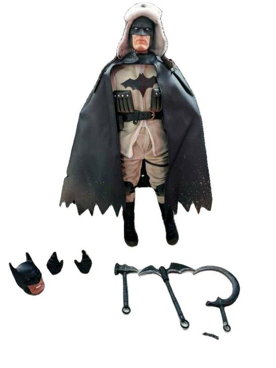 1/6 масштаб дульбе голова лепить Бэтмен красный сын фигурку игрушки Модель Вторая мировая война советская коллекция Супермена хобби