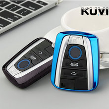 New Soft TPU Car Key Case Cover for BMW I3 I8 Series Styling Protection Shell Keychain Ring Accessories
