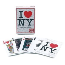 Bicycle I Love NY Playing Cards Poker Size Deck USPCC New York City Landmarks Custom New Edition Magic Cards Magic Tricks Props(China)