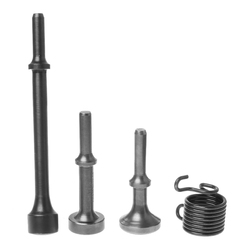 3 sztuk wygładzanie pneumatyczny młot pneumatyczny bity długi narzędzie i 1 * wiosna do naprawy opon w Narzędzia pneumatyczne od Narzędzia na