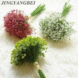 Gypsophila Bouquets Night Scent Babies Breath Artificial Flowers Fake DIY Floral Arrangement Wedding Home Decoration Flowers