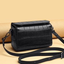Genuine Leather Real Cowhide 2021 New Women Leisure Fashion Bag Women's Messenger Bag Shoulder Bag Cross Bag Women's Handbag