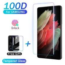 Защитная пленка из закаленного стекла для Samsung Galaxy S20 S21 ультра S10 E S9 S8 Note20 Plus протектор экрана из закаленного стекла Note 20 S 21 10 9 8 S10E S20 5G пленка