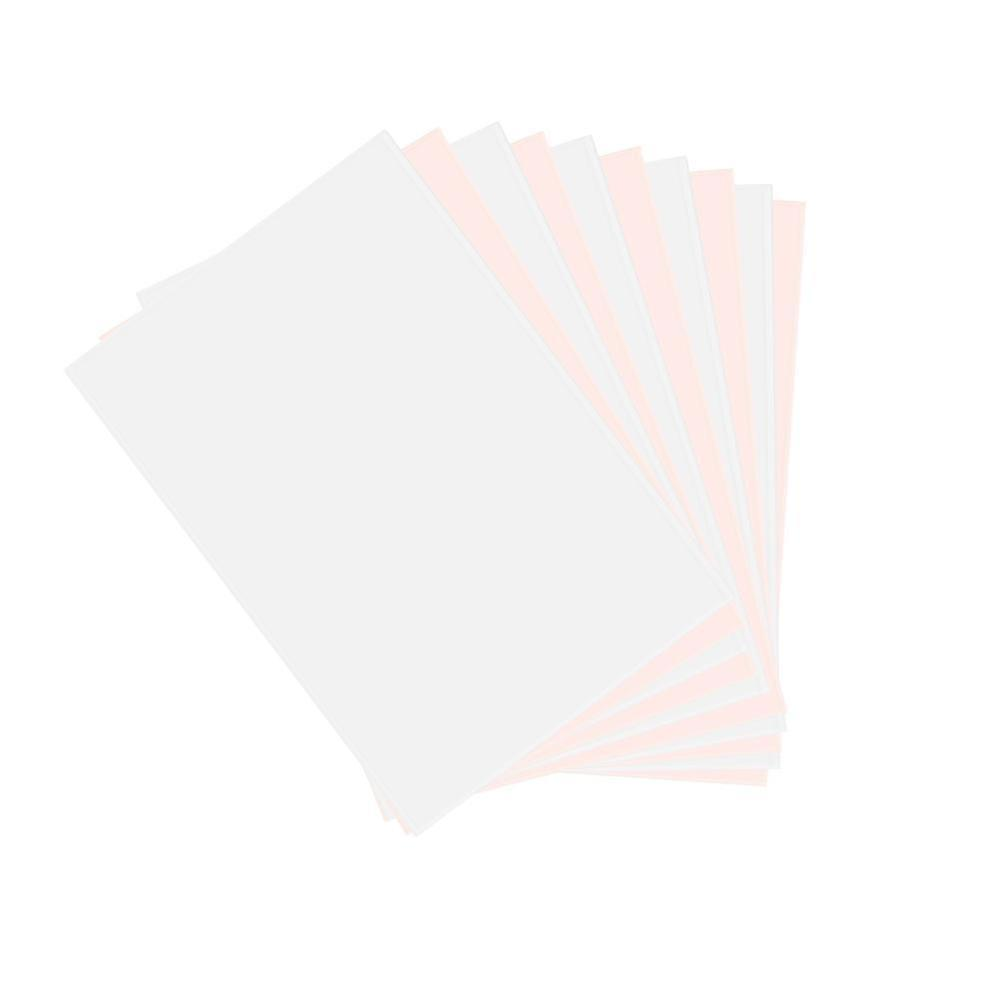 10pcs/Set T-Shirt A4 Transfer Paper Iron On Heat Press Light Fabrics Inkjet Print Printing Paper For T- Shirts Office Supplies