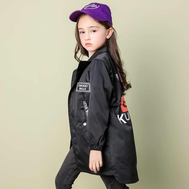 Демисезонный Плащ для девочек Одежда для детей 8, 9, 10, 12, 13, 14 лет студентов школьные куртки