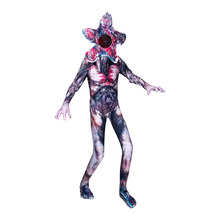Halloween Costume for Kids Scary Mask Boys Cosplay Clothes Man-eater Flower Carnival Party Creepy 5-14Y 62951