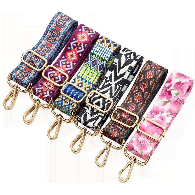 36 Color Options Rainbow Bag Strap For Women Shoulder Handbag Messenger Belt For A Bag Accessories Handle Cross Body Womens Bags