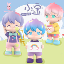 Blind-Box Toys Guess-Bag Rainbow Girls Figures Anime Cute Ciega XIAO Model for Caja Gifts