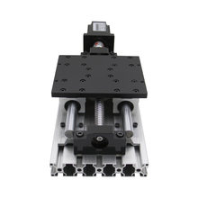 CNC machine XYZ axis Slide Linear Stage SFU1605 Ball Screw+SBR16 Linear Guide Suitable for Name23 stepper motor(China)