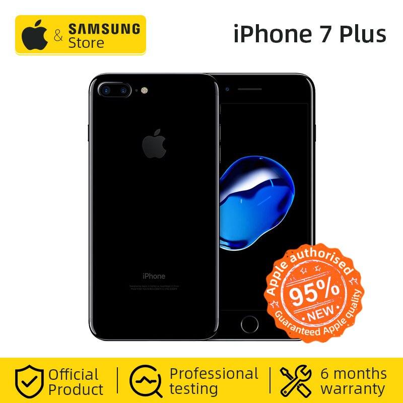 Unlocked Apple IPhone 7 Plus 3GB RAM 32/128GB IOS CellPhone LTE 12.0MP Camera Apple Quad-Core Fingerprint 12MP 2910mA(95% New)