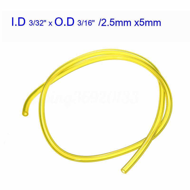 Vervanging Brandstof Lijn Gas Slang 1pc Spare Voor Trimmer Universal Kettingzaag hogedrukreinigers 2.5x5mm/3 x 6mm