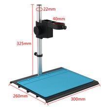Table-Stand Microscope Camera Focusing-Bracket Video Adjustable Aluminum-Alloy Digital