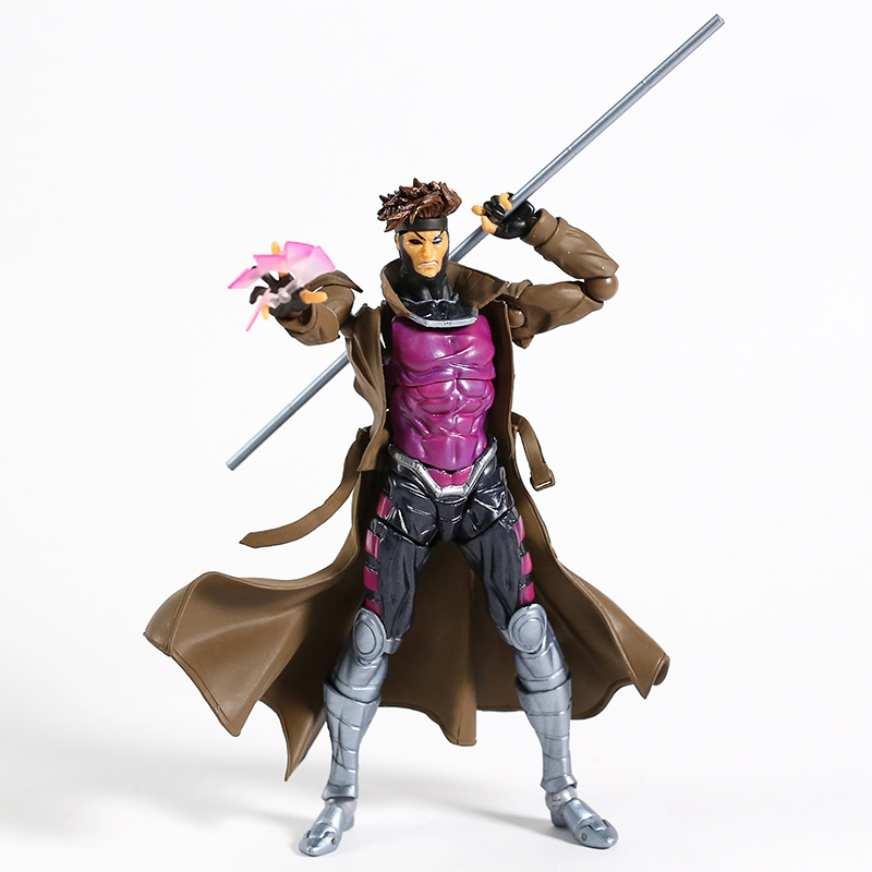 Marvel Incredibile Yamaguchi Revoltech Gambit x-MEN serie NO.012 PVC Action Figure