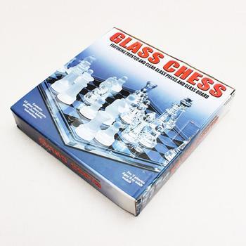 Board Game Exquisite High-grade K9 Glass Portable Chess Board