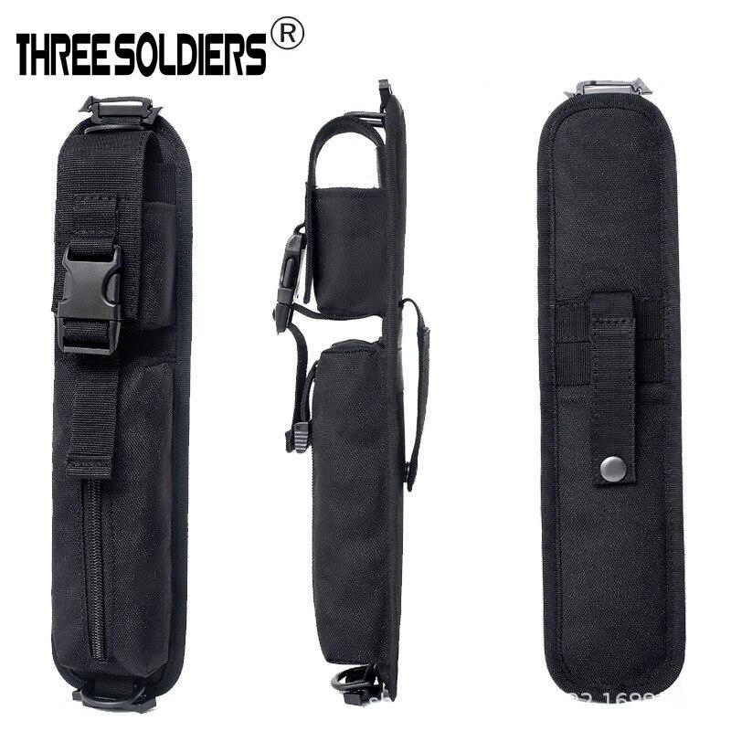 Tactical Backpack Molle Sholder Bag Glasses Debris Multifunction Storage Bag Army Fans Accessories Long Bag