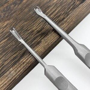 U + V Geformt Leder Nähte Schäl Werkzeug S/L Groover Stanzen Werkzeug Kit Leathercraft Loch Puncher Rand Beveler tool Kit