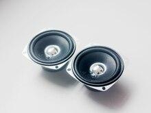 2 sztuk 10W 4 ohm 3 cal głośnik pełnozakresowy DIY HIFI głośnik do samochodowe Stereo kina domowego głośniki Audio gama antymagnetyczny