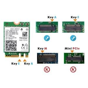 Image 4 - Double bande sans fil pour Intel 9260 carte WiFi 9260NGW 9260AC NGFF M.2 1.73Gbps 802.11ac Bluetooth 5.0 adaptateur réseau Wlan