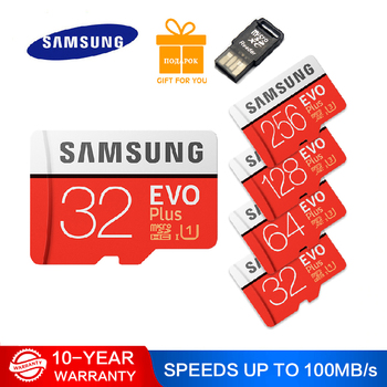 SAMSUNG EVO PLUS 128GB 256GB 64GB 32GB Micro SD Class 10 U3 TF Cards UHS-I 512G SDHC SDXC Grade TF Memory Card For Phone