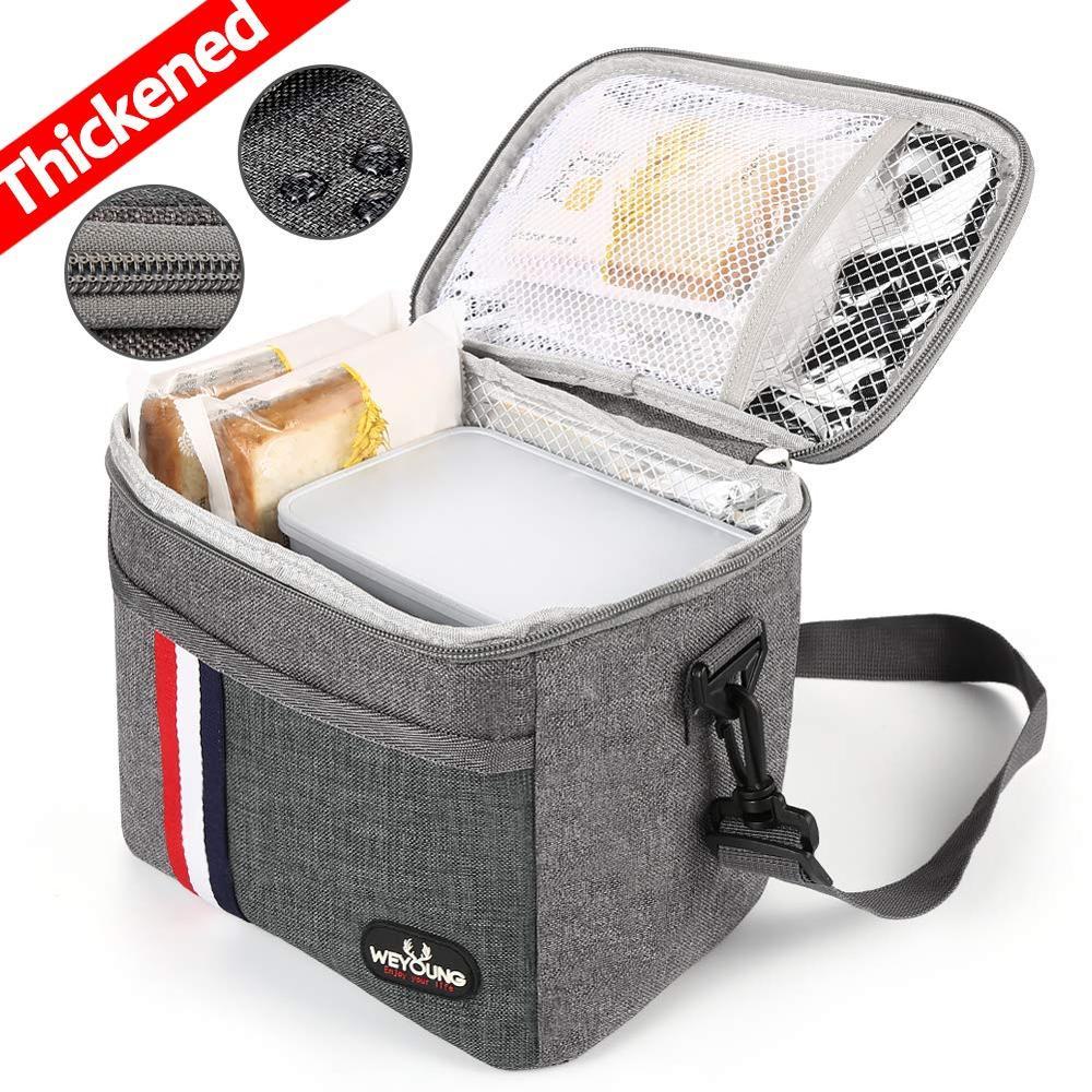 Nova chegada isolado térmico refrigerador lancheira saco para o trabalho saco de piquenique bolsa térmica loncheras para estudante da escola